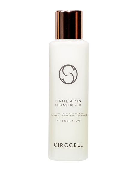 Circcell Skincare Mandarin Cleansing Milk, 4.0 oz./ 120 mL
