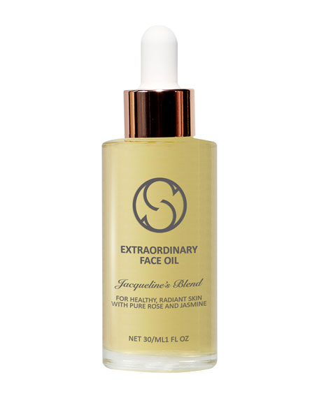 Circcell Skincare Extraordinary Face Oil - Jacqueline's Blend for Anti-Aging, 1 oz./ 30 mL