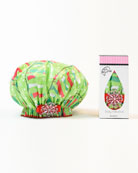 String Me Along Bouffant Diva Shower Cap