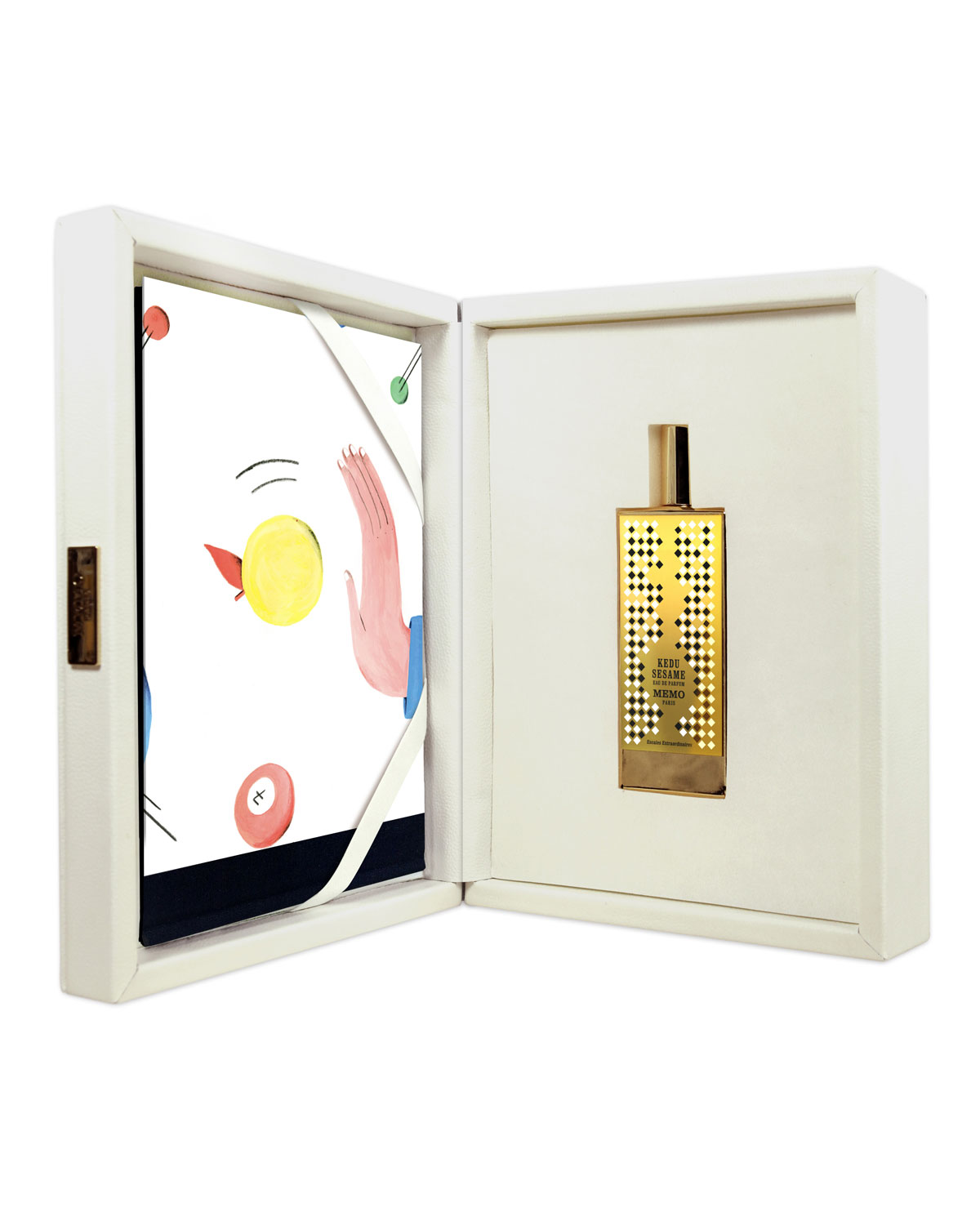 MEMO PARIS Kedu Sesame Leather Coffret Eau De Parfum, 2.5 Oz./ 75 Ml