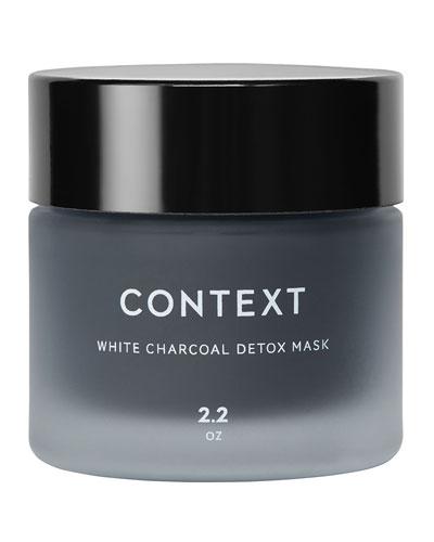 White Charcoal Detox Mask, 2.0 oz./ 59 mL