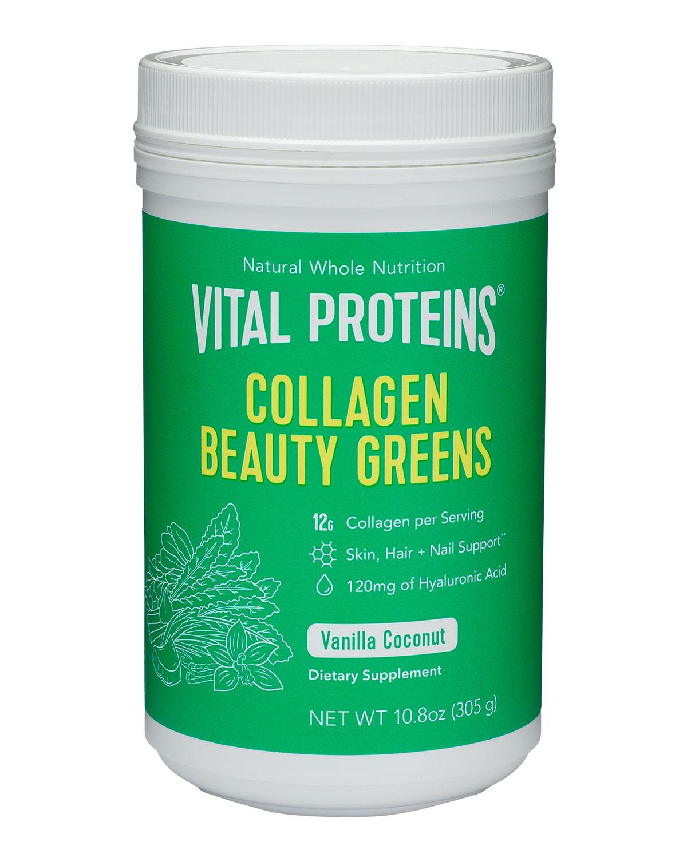 VITAL PROTEINS Collagen Beauty Greens, 10.6 Oz./ 313 Ml