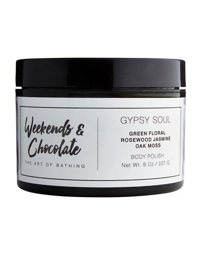 Body Scrub - Gypsy Soul, 8.0 oz./ 227 mL