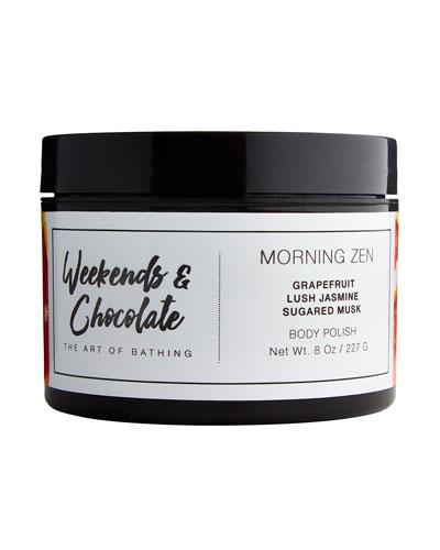 Body Scrub - Morning Zen, 8.0 oz./ 227 g