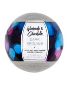 Large Bath Fizzy - Dark Sequins, 8 oz / 226 g