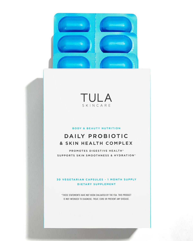 Tula Daily Probiotic & Skin Health Complex, 30 Capsules