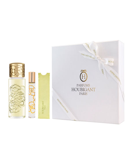 Houbigant Paris Quelques Fleurs Jardin Secret Set ($275 Value)