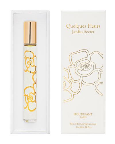 Quelques Fleurs Jardin Secret Eau de Parfum, 0.3 oz./ 10 mL