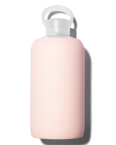 Glass Water Bottle, Tutu, 34 oz./ 1L