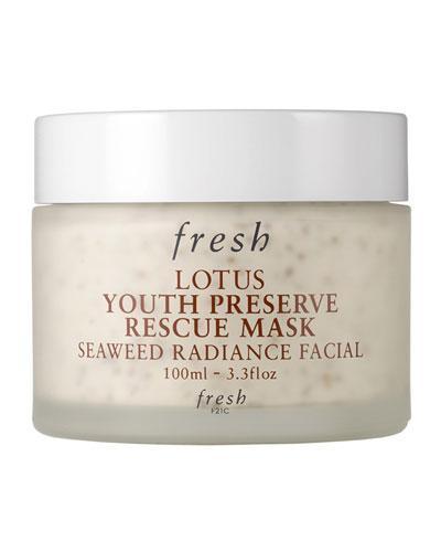 Lotus Youth Preserve Rescue Mask, 3.3 oz./ 100 mL