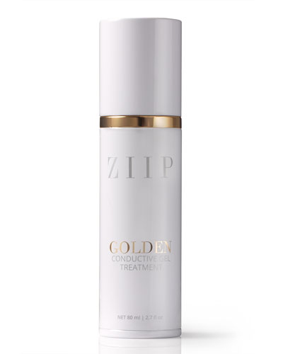 ZIIP Beauty Golden Conductive Gel, 2.7 oz./ 80 mL