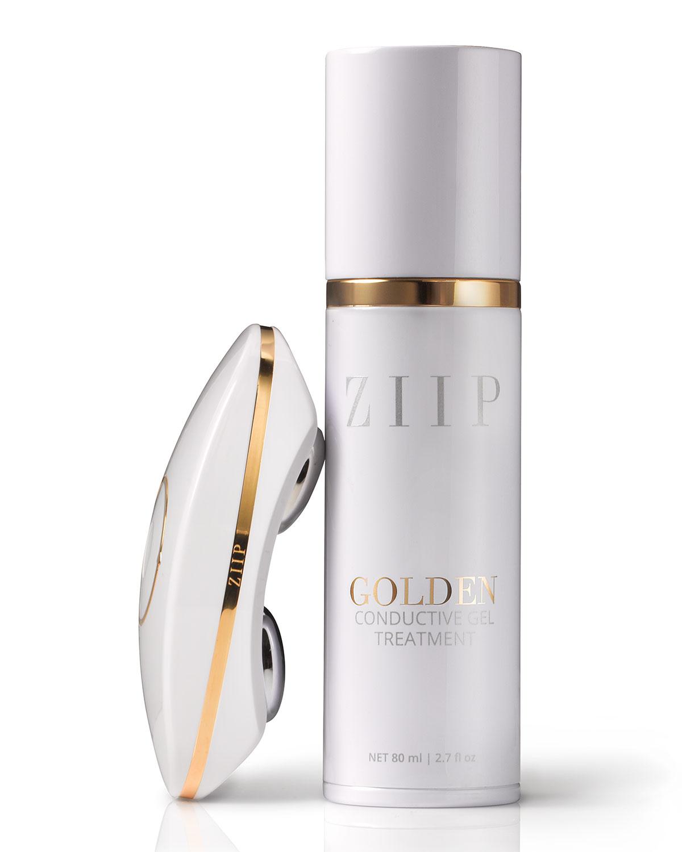 ZIIP Beauty Device & Golden Conductive Gel