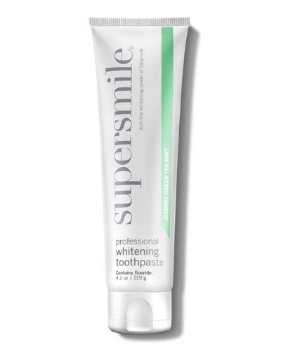 Professional Whitening Toothpaste in Jasmine Green Tea, 4.2 oz./ 125 mL