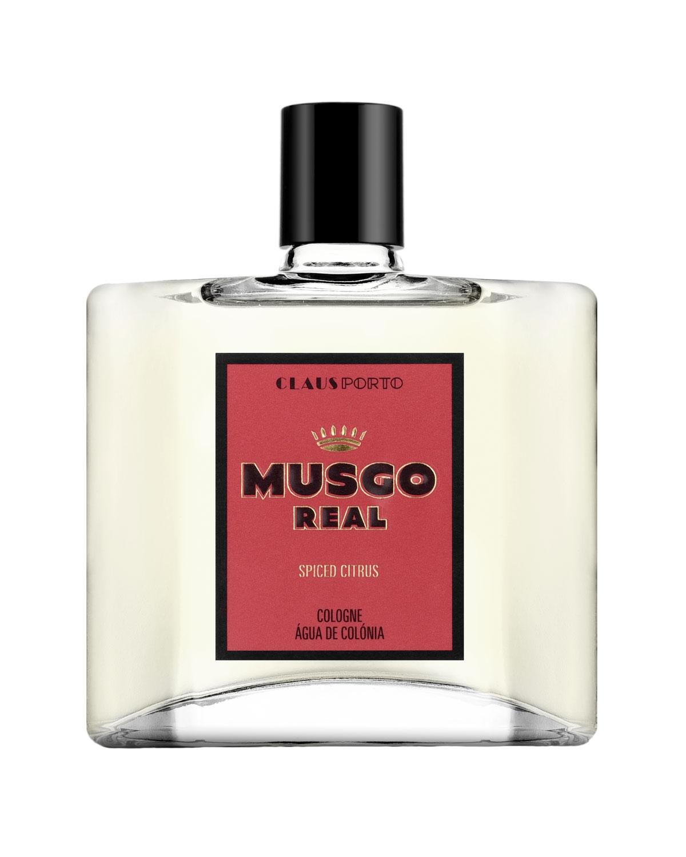 MUSGO REAL Spiced Citrus Eau De Cologne, 3.4 Oz./ 100 Ml
