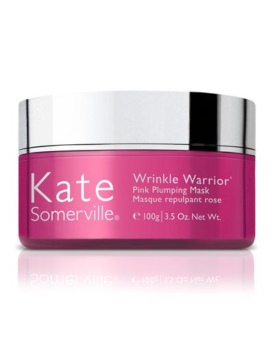 Wrinkle Warrior & #174 Pink Plumping Mask, 3.5 oz./ 100 g