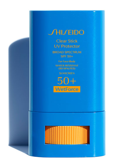 Shiseido Clear Stick UV Protector Broad Spectrum SPF 50+, 0.52 oz./ 15 g