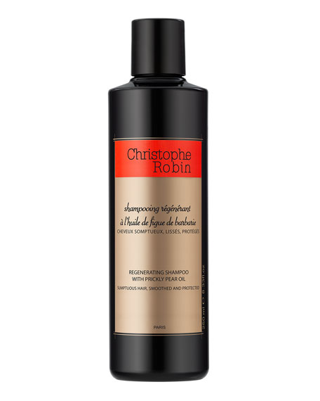 Christophe Robin 8.4 oz. Regenerating Shampoo with Prickly Pear Oil