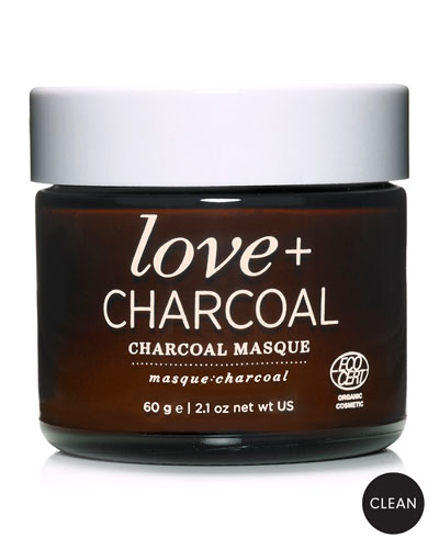 Love + Charcoal Masque, 2.1 oz./ 60 g