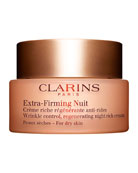 Clarins Extra-Firming Wrinkle Control Regenerating Night Cream �
