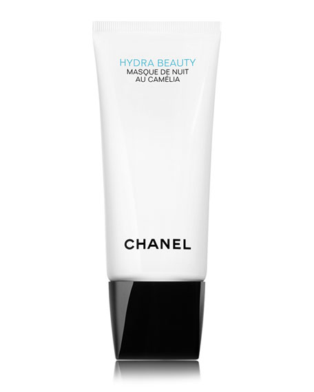 CHANEL <b>HYDRA BEAUTY MASQUE DE NUIT AU CAM&#201LIA</b><br>HYDRATING OXYGENATING OVERNIGHT MASK