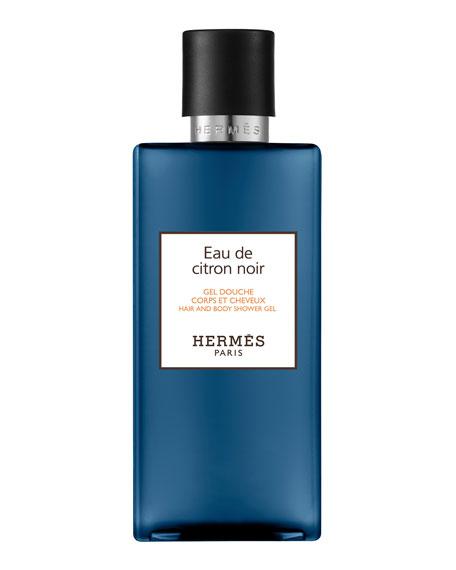 Hermès Eau de Citron Noir Hair and Body Shower Gel, 6.5 oz./ 200 mL