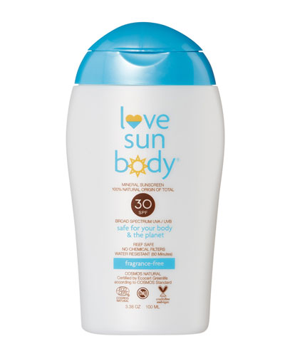 Love Sun Body 100% Natural Origin Mineral Sunscreen SPF 30 Fragrance-Free ...