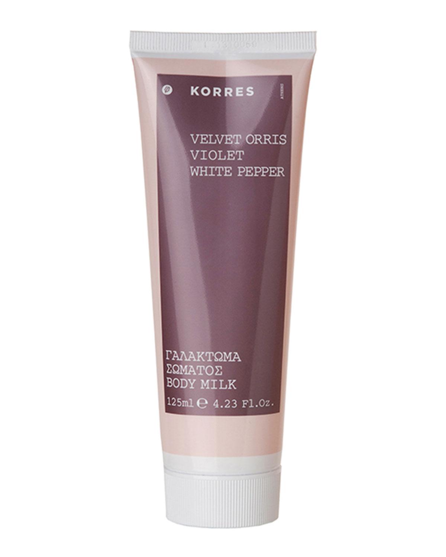 KORRES Velvet Orris Body Milk, 4.2 Oz./ 125 Ml
