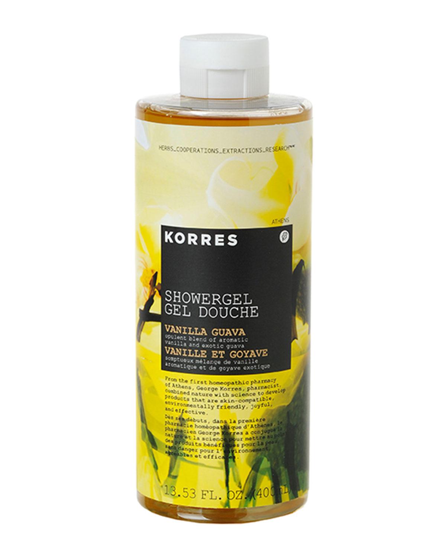 KORRES Vanilla Guava Shower Gel, 14 Oz./ 400 Ml