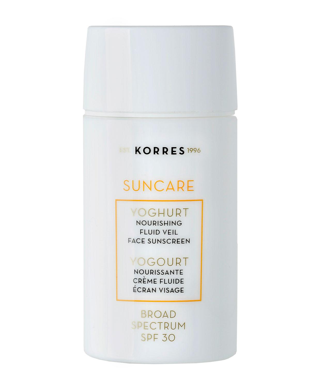 Korres Yoghurt Fluid Veil Face SPF 30, 1.7 oz. 50 mL
