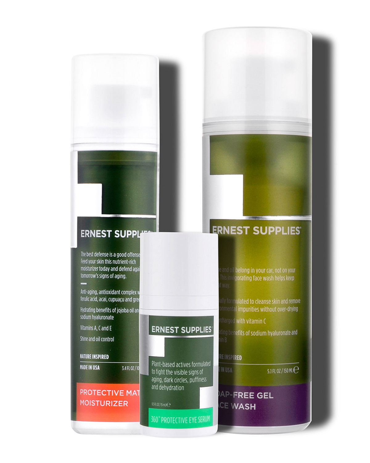 ERNEST SUPPLIES Daily Face Refresh Kit