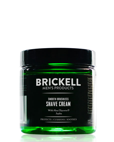 Brickell Men's Products 5 oz. Smooth Brushless Shave Cream