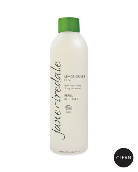 Jane Iredale Lemongrass Love Hydration Spray Refill, 9.5 oz. / 281 ml