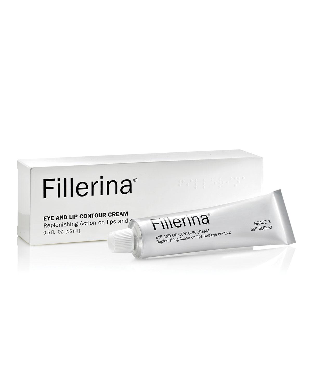 FILLERINA Eye And Lip Contour Cream Grade 1, 0.5 Oz. / 15Ml