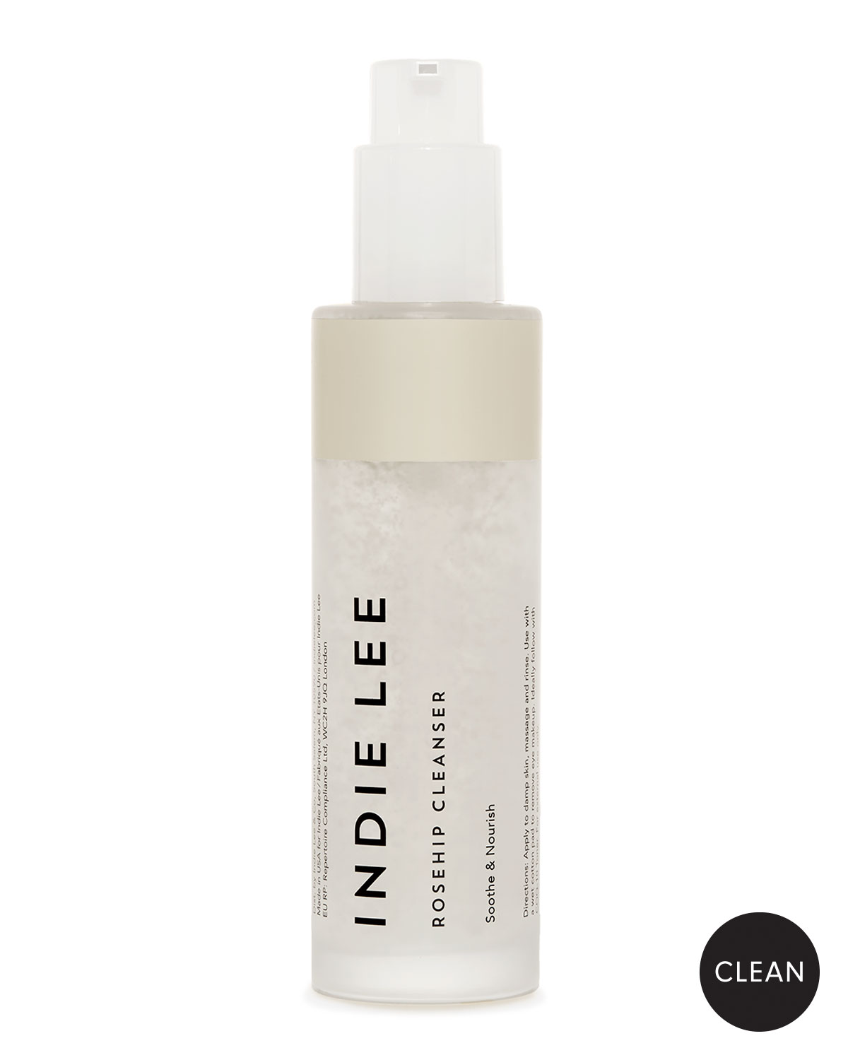 INDIE LEE Rosehip Cleanser, 4.2 Oz./ 125 Ml