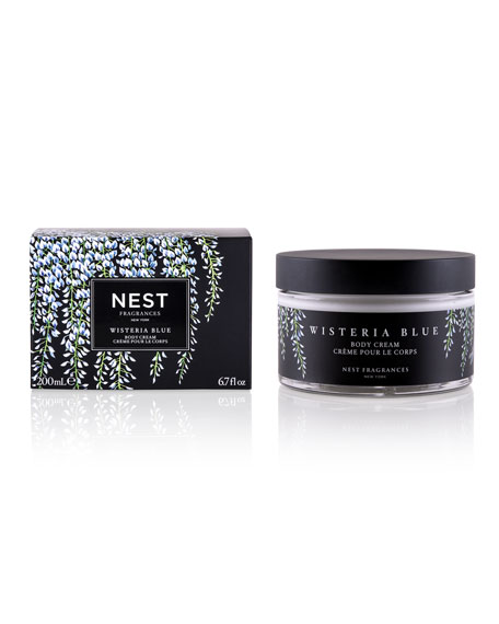 Nest Fragrances 6.7 oz. Wisteria Blue Scented Body Cream