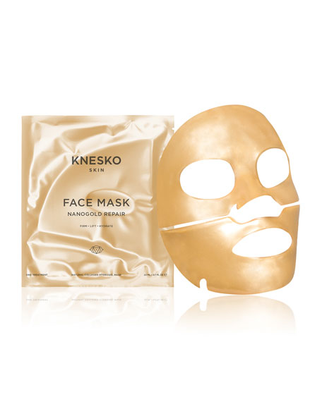 Knesko Skin Nano Gold Repair Collagen Face Masks (1 Treatment)