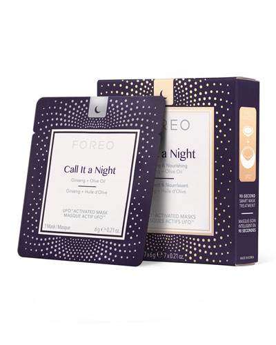 UFO Call It a Night Mask Set X 7