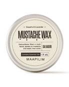 Maapilim Mustache Wax - Grapefruit & Lavender, 1.7