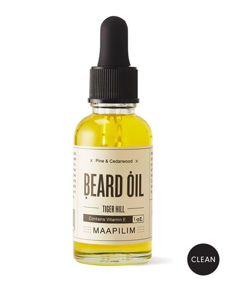 Maapilim Beard Oil - Tiger Hill Pine & Cedarwood, 1.0 oz./ 30 mL