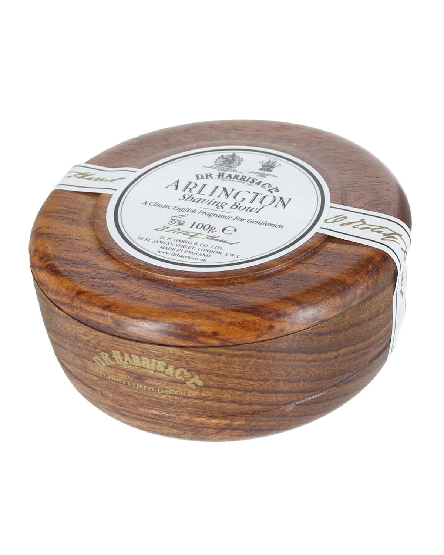 D.R. HARRIS & CO. Arlington Shaving Soap In Mahogany Bowl