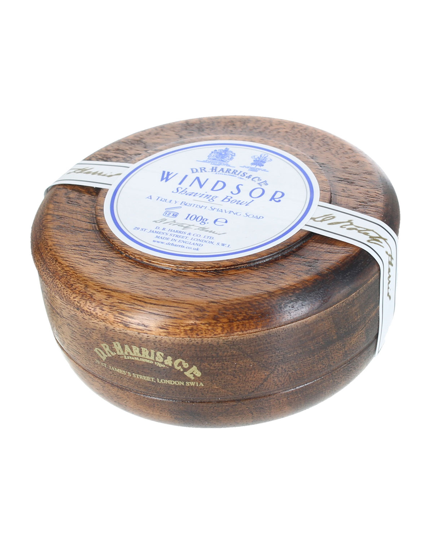 D.R. HARRIS & CO. Windsor Shaving Soap In Mahogany Bowl