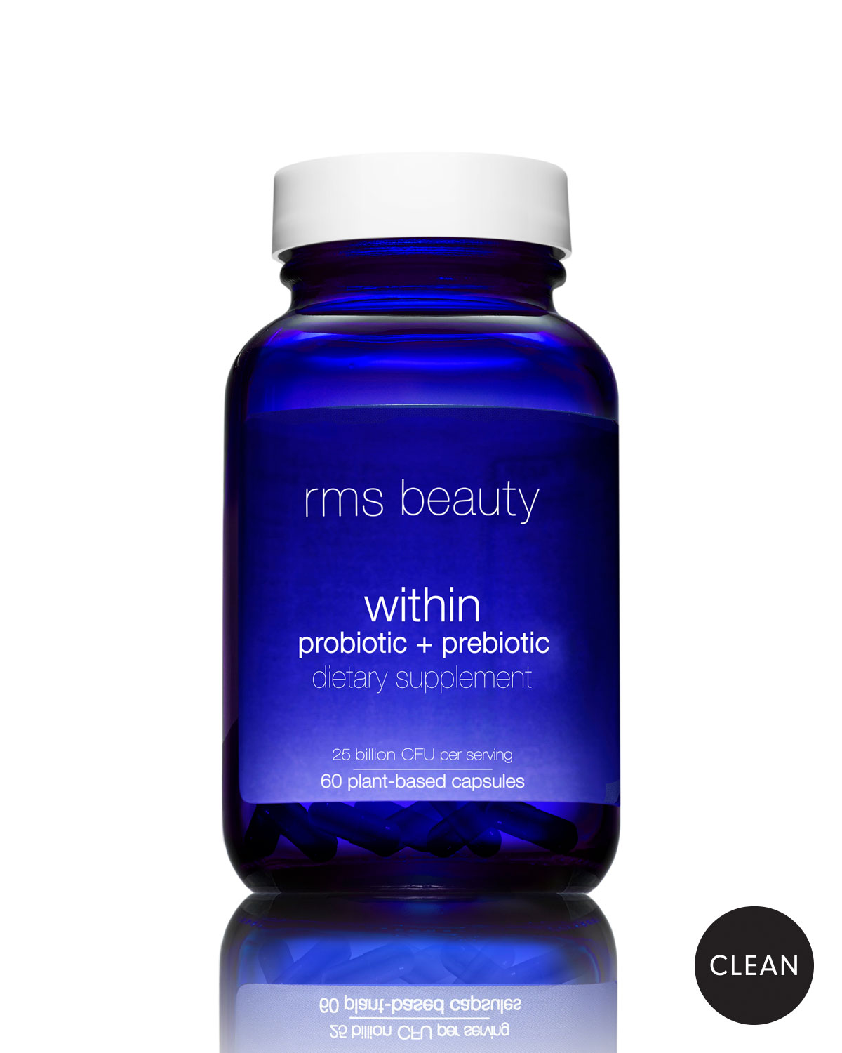 Rms Beauty Beauty Within Probiotic + Prebiotic Dietary Supplement, 60 Capsules