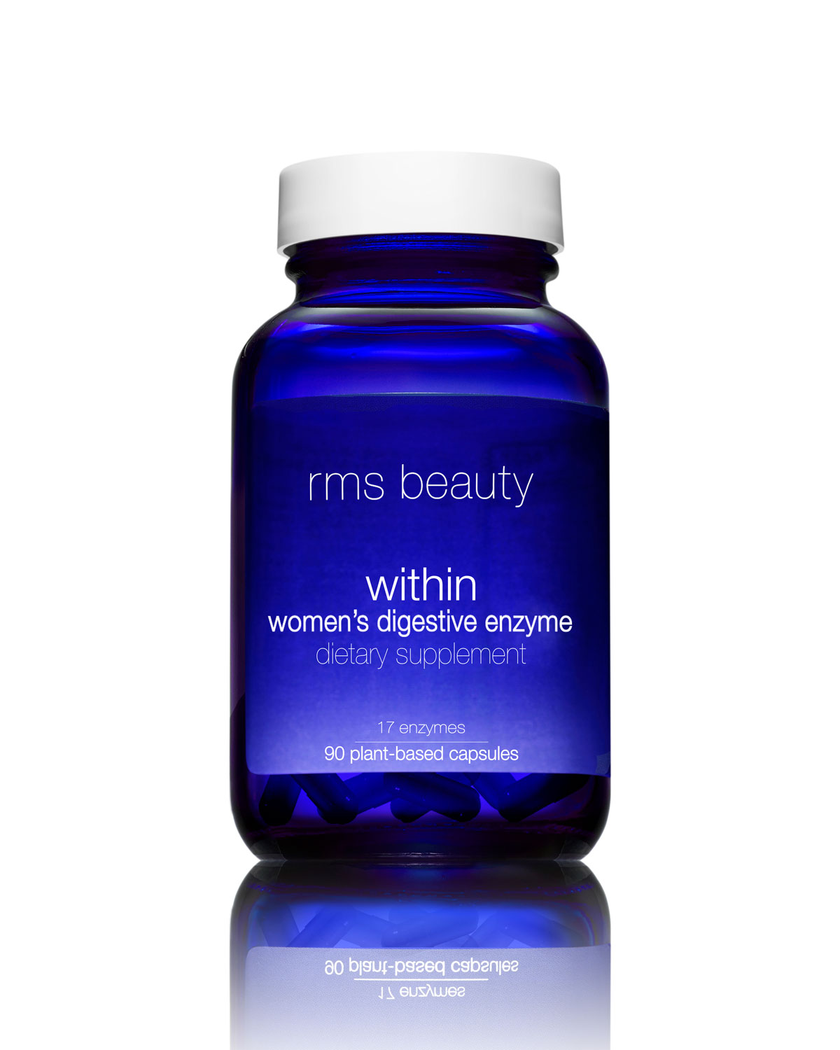 Rms Beauty BEAUTY WITHIN WOMEN'S DIGESTIVE ENZYME DIETARY SUPPLEMENT, 90 CAPSULES