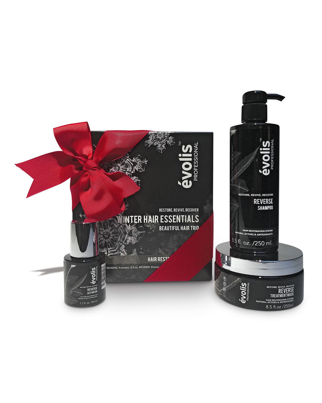 EVOLIS PROFESSIONAL Nm Exclusive Winter Hair Essentials By & #233Volis, Reverse Hair Restoration Set