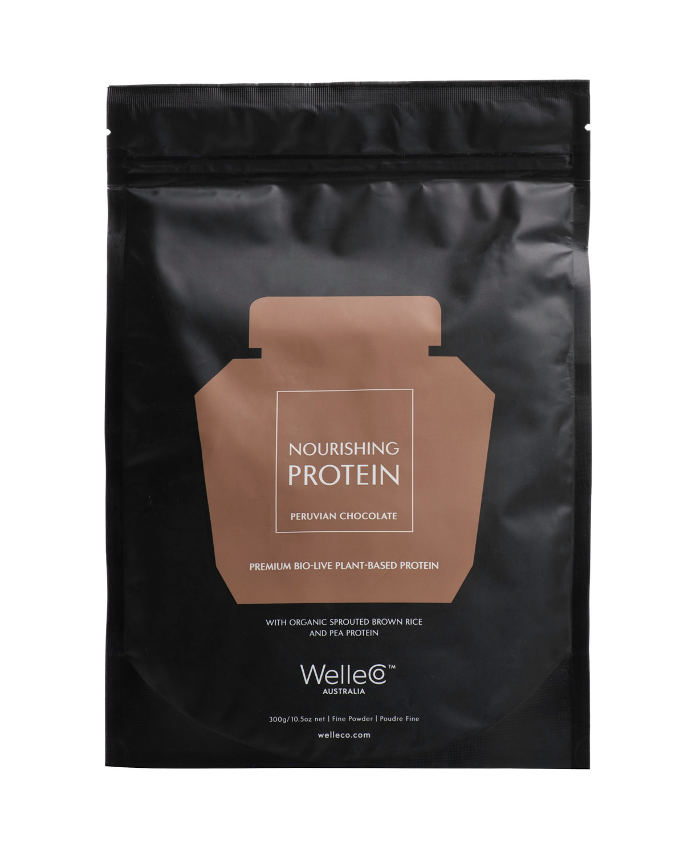 WELLECO Nourishing Plant Protein, Chocolate