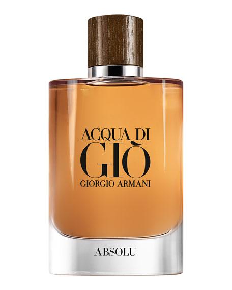 Giorgio Armani 4.2 oz. Acqua Di Gio Absolu Eau De Parfum