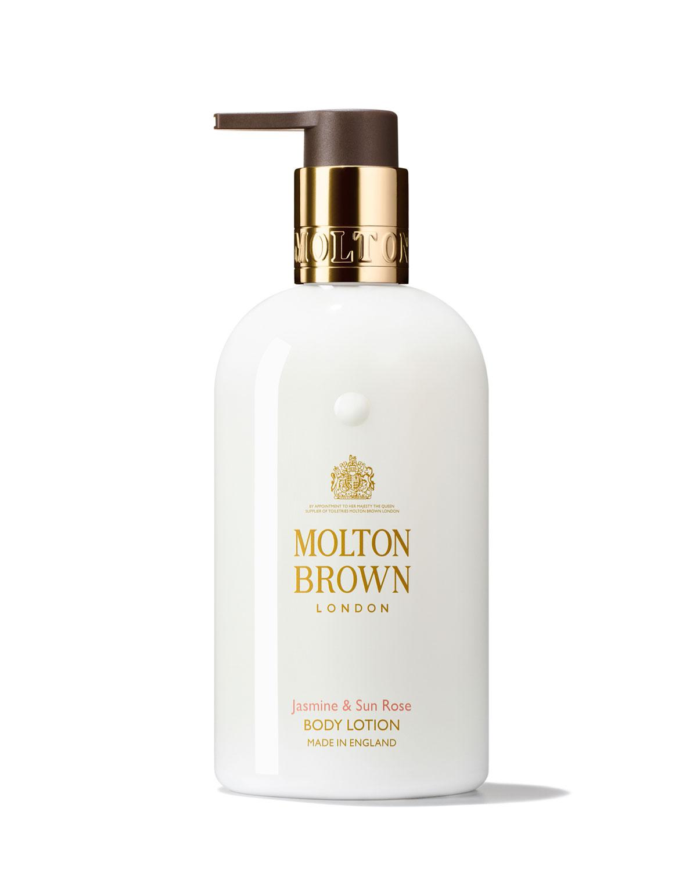 MOLTON BROWN Jasmine & Sun Rose Body Lotion, 10 Oz./ 300 Ml
