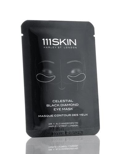 Celestial Black Diamond Eye Mask, Eight