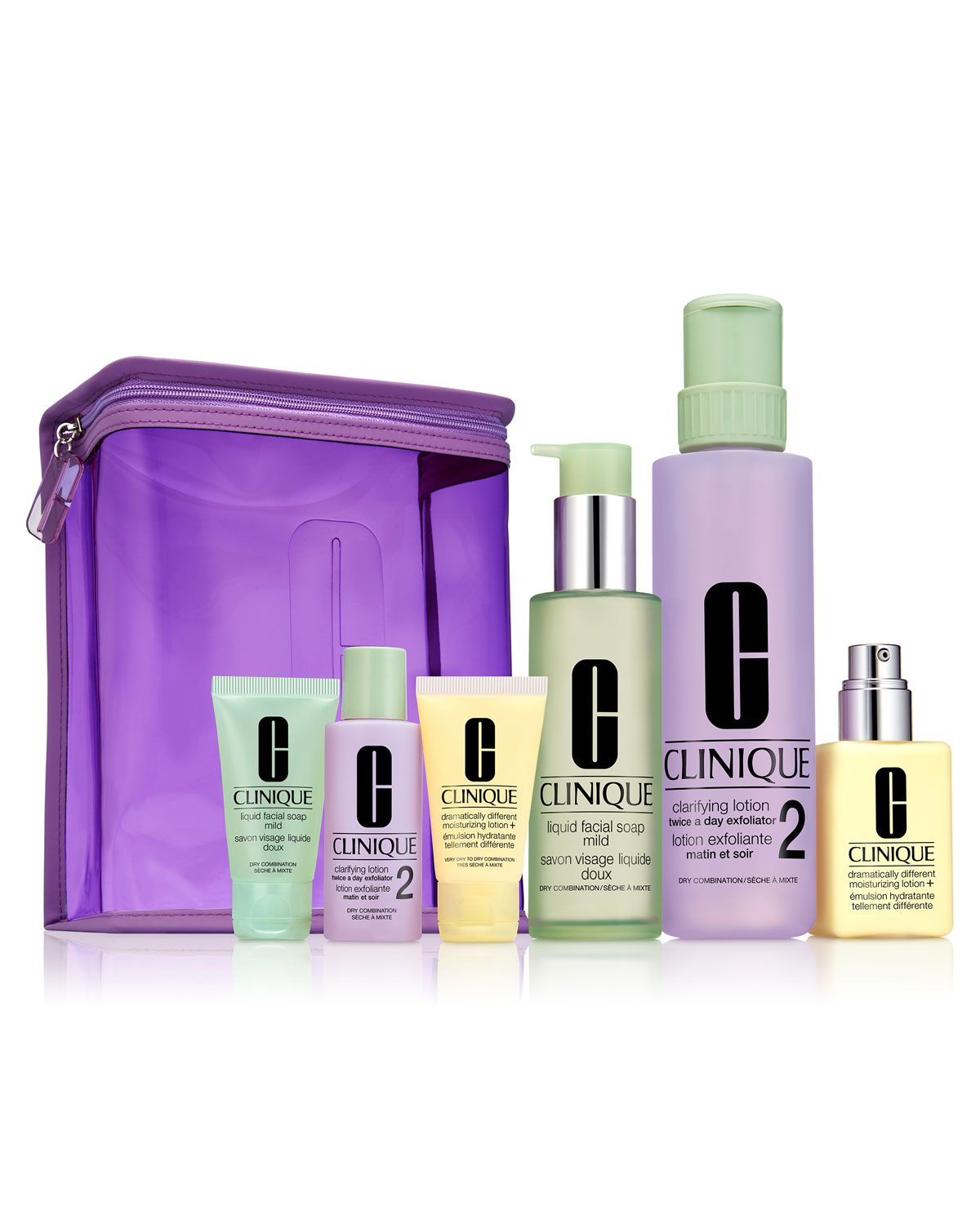 Clinique Great Skin Home and Away Set For Drier Skin