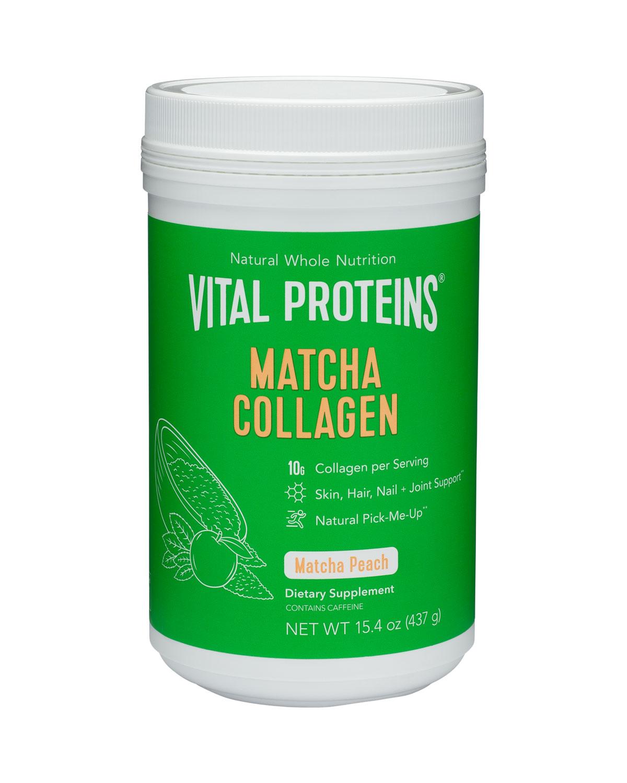 VITAL PROTEINS Collagen Peptides Matcha (Peach)